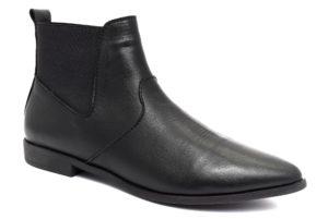 camore 9p0708 nero scarpe vera pelle elastici laterali tacco basso stivaletti invernali da donna collezione autunno inverno
