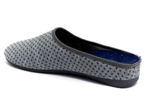 grunland adri ci1673 47 grigio avio ciabatte pantofole panno da infilare zeppa ciabatte pantofole invernali da donna collezione autunno inverno