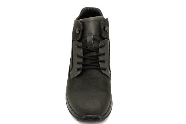 igieco 4114411 grigio scarpe vera pelle lacci polacchine invernali da uomo collezione autunno inverno