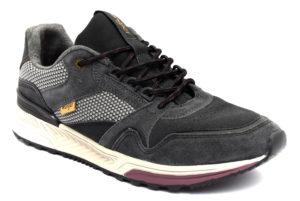 wrangler wm92200a 256 grigio scarpe vera pelle lacci sneakers invernali da uomo collezione autunno inverno