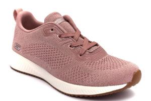 skechers 117006 pnk glitz maker rosa scarpe mesh tessuto slipon memory foam air cooled sneakers estive da donna collezione primavera estate