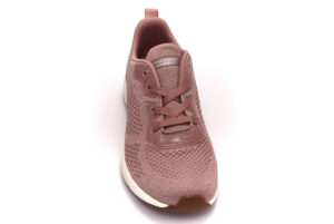 skechers 117006 pnk glitz maker rosa scarpe mesh tessuto slipon memory foam air cooled sneakers estive da donna collezione primavera estate