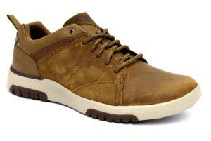 skechers 66323 dsrt desert cuoio scarpe vera pelle lacci memory foam air cooled sneakers invernali da uomo collezione autunno inverno