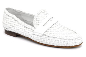 cafenoir gea427 271 ea427 bianco scarpe vera pelle da infilare mocassini estive da donna collezione primavera estate