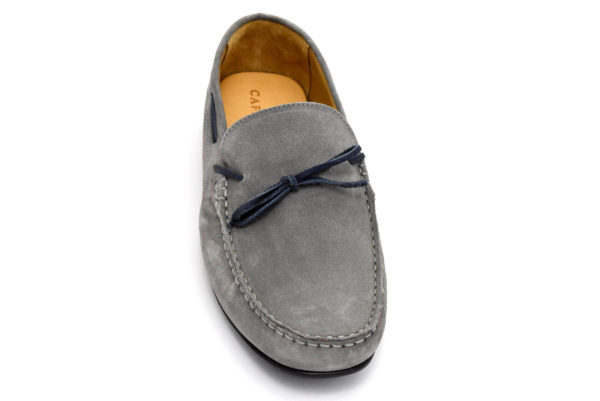 cafenoir gtr631 016 tr631 grigio scarpecamoscio da infilare mocassini estive da uomo collezione primavera estate
