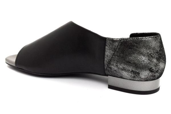 geox d724ha 0tu77 c9999 wistrey nero scarpe vera pelle slipon tacco basso mocassini estive da donna collezione primavera estate