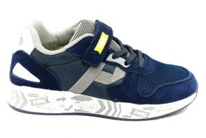 primigi 5453711 blu bianco scarpe tessuto strappi sneakers estive da bambino collezione primavera estate