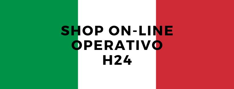 shop on-line operativo H24