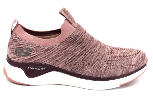 skechers 13329 mve lite joy mauve rosa scarpe mesh tessuto slipon memory foam air cooled sneakers estive da donna collezione primavera estate