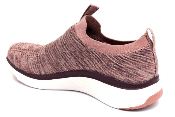 skechers 13329 mve lite joy mauve rosa scarpe mesh tessuto slipon memory foam air cooled sneakers estive da donna collezione primavera estate