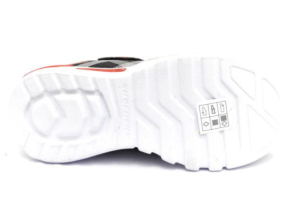 skechers 90542l bksl flex glow nero rosso scarpe mesh tessuto strappi luci sneakers estive da bambino collezione primavera estate