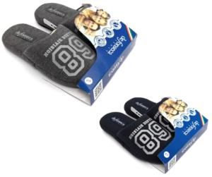 de fonseca de roma top m424 grigio blu ciabatte pantofole panno da infilare ciabatte pantofole invernali da bambino collezione autunno inverno