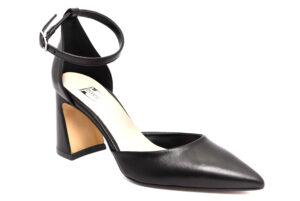 divine follie 22000 nero scarpe ecopelle cinturino alla caviglia tacco medio mary jane estive da donna collezione primavera estate
