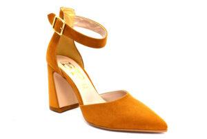 divine follie 509 cuoio scarpe ecopelle cinturino alla caviglia tacco medio sandali estive da donna collezione primavera estate