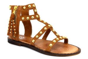 divine follie df 292 cuoio scarpe vera pelle cinturino alla caviglia tacco basso sandali alla schiava estivi da donna collezione primavera estate