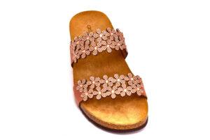 grunland memi cb2476 70 cipria ciabatte pantofole ecopelle da infilare zeppa ciabatte pantofole estive da donna collezione primavera estate