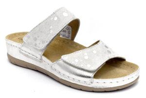 grunland prau ci2290 59 ghiaccio ciabatte pantofole ecopelle da infilare zeppa ciabatte pantofole estive da donna collezione primavera estate