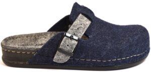 grunland reps ci0795 a6 blu grigio ciabatte pantofole lana cotta slipon ciabatte pantofole invernali da donna collezione autunno inverno