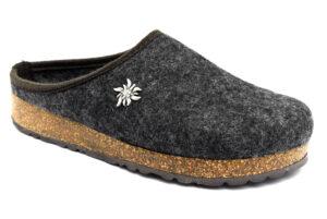 amix diamond u 1983 20 04 antracite scarpe lana cotta da infilare zeppa ciabatte pantofole invernali da uomo collezione autunno inverno