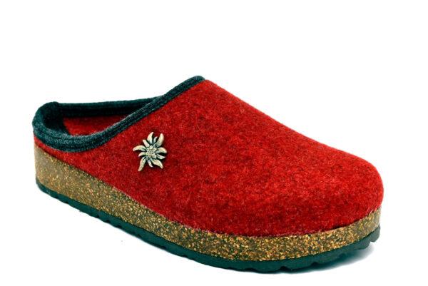 amix diamond 1983 20 11 rosso ciabatte pantofole panno da infilare lana cotta ciabatte pantofole invernali da donna collezione autunno inverno