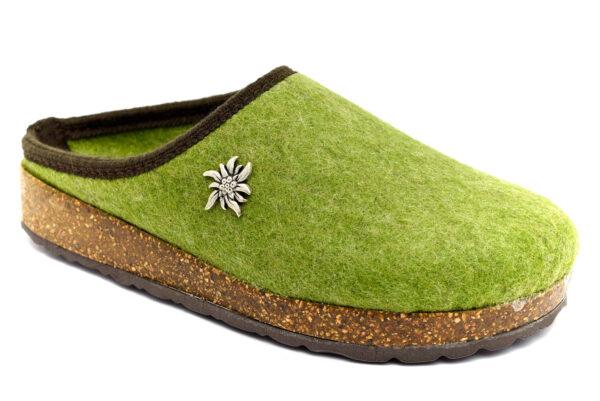 amix diamond 1983 20 11 verde ciabatte pantofole panno da infilare lana cotta ciabatte pantofole invernali da donna collezione autunno inverno
