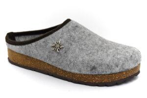 amix diamond u 1983 20 04 grigio chiaro scarpe lana cotta da infilare zeppa ciabatte pantofole tirolesi invernali da uomo collezione autunno inverno