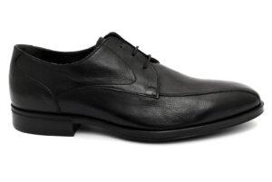 nero giardini i001634u 100 nero scarpe vera pelle lacci stringate invernali da uomo collezione autunno inverno