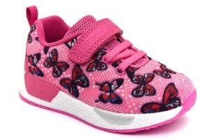 primigi 7447500 fuxia scarpe mesh tessuto strappi sneakers estive da bambina collezione primavera estate