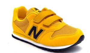 new balance yv500tpy giallo scarpe mesh tessuto strappi sneakers estive da bambino collezione primavera estate