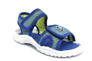grunland flin ps0061 48 royal scarpe tessuto strappi sandali estive da bambino collezione primavera estate