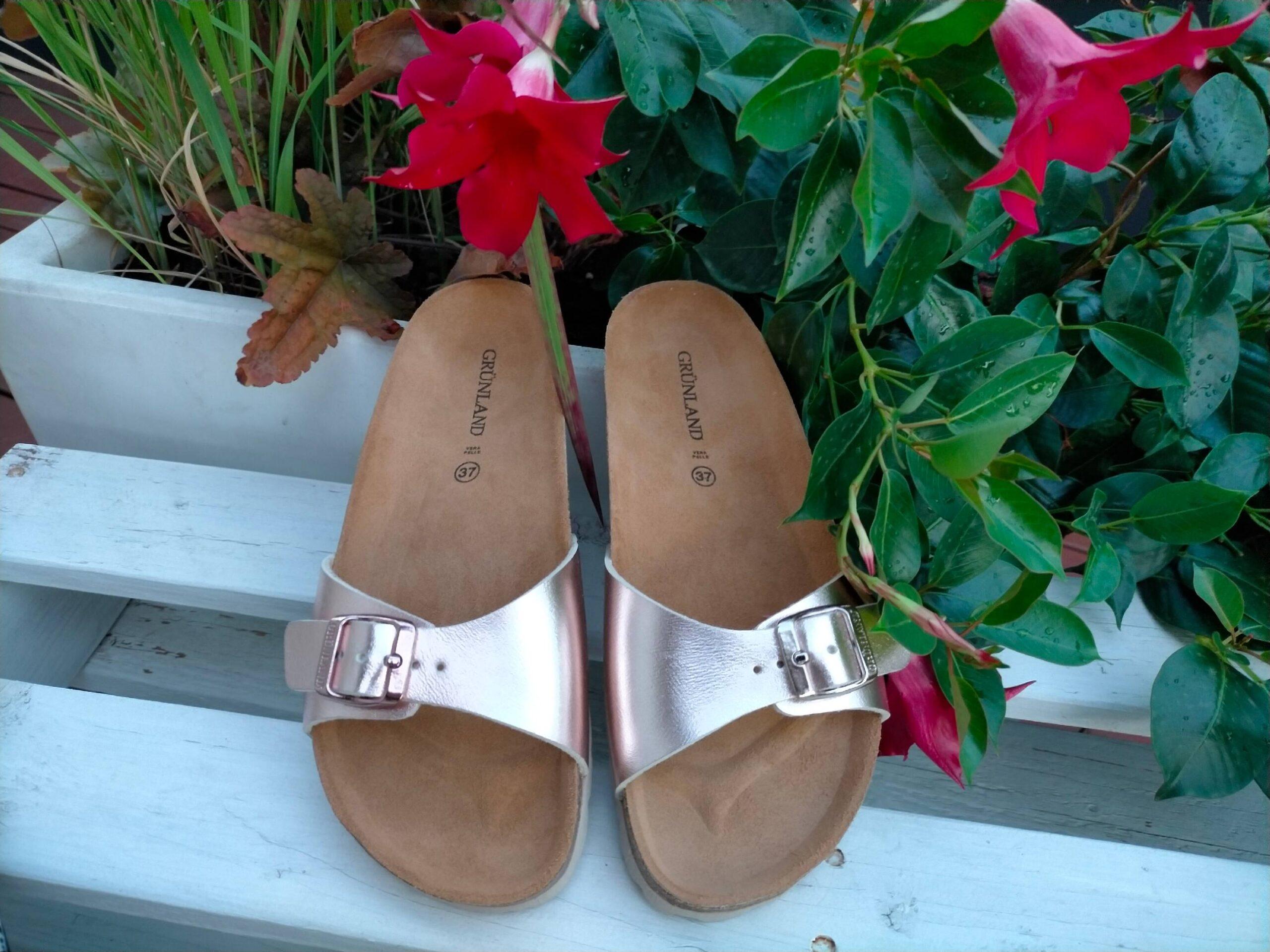 grunland sara cb2382 40 cipria ciabatte pantofole sintetico fibbia plantare in sughero ciabatte pantofole estive da donna collezione primavera estate