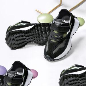 grunland roop sc2460 k2 nero bosco scarpe bambino sneakers strappi