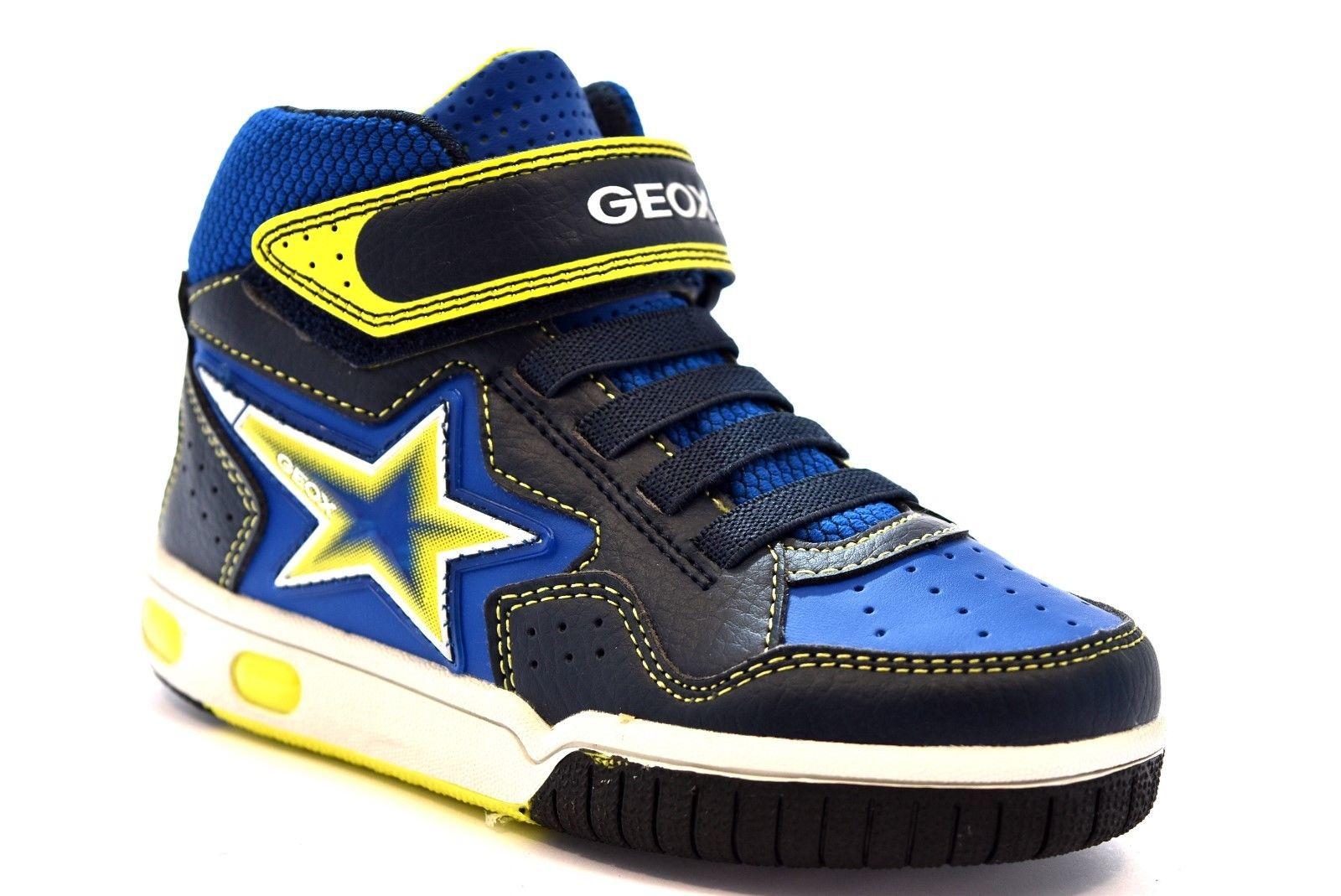 JR KOMMODOR BOY White Bambino   Sneakers Geox ⋆ MU ME