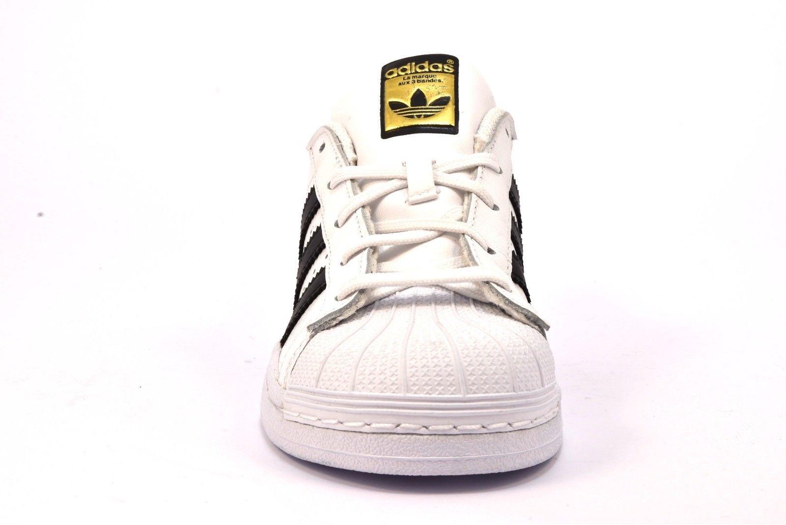 adidas superstar bianco e nero