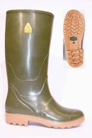Rontani 570 stivale a ginocchio in gomma forte con suola in carrarmato per la pioggia e per il giardino