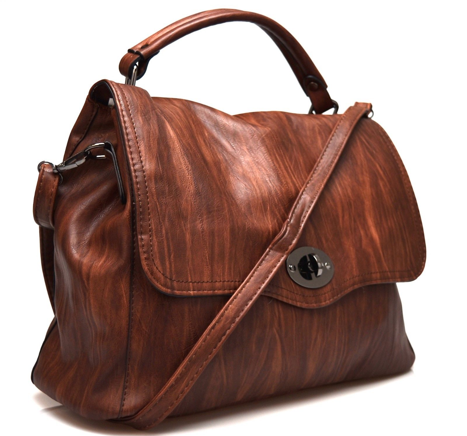 HAND BAG 613 1 Borsa a mano mod.Postino da donna f2f2ca56cf39