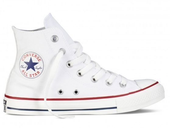 2converse all star bianche donna