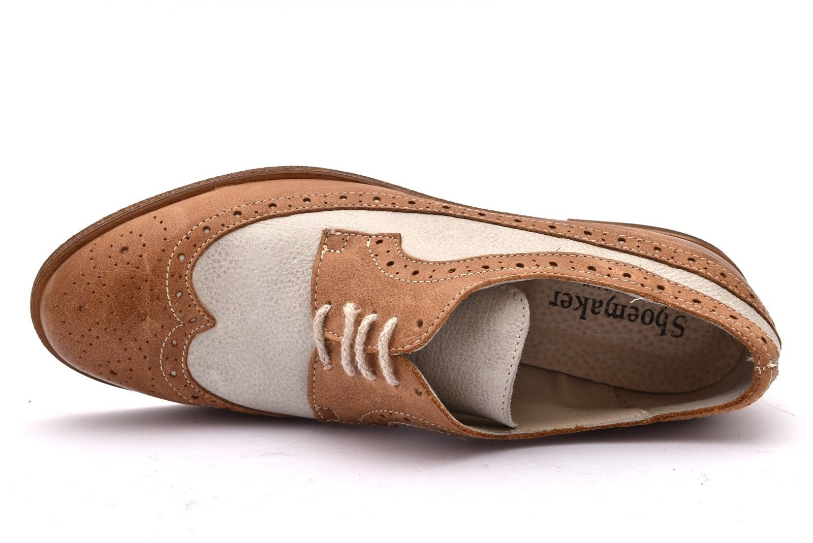 new style 194b8 a43e0 SHOEMAKER 1306 CUOIO BIANCO | shoesmyfriends.it